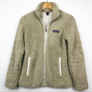 Patagonia Los Gatos Khaki Zip Up Fleece Jacket